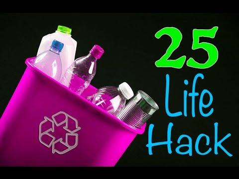Embedded thumbnail for 25 Brilliant Ways To Reuse Plastic Bottles.